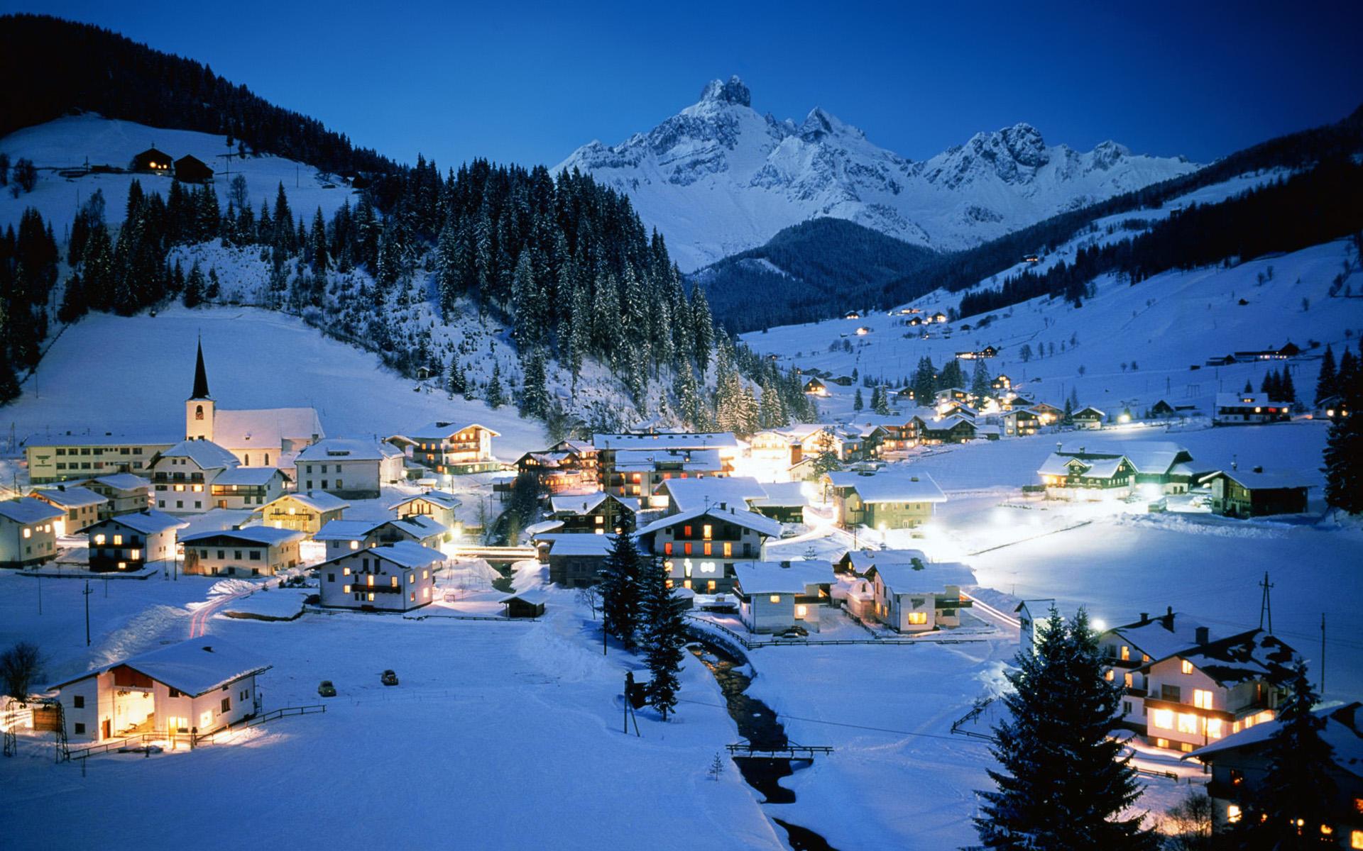 Mountain Wallpaper In Snow